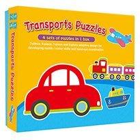 {kobe.com繪本網}交通工具大拼圖(Transports Puzzles)~特價:150