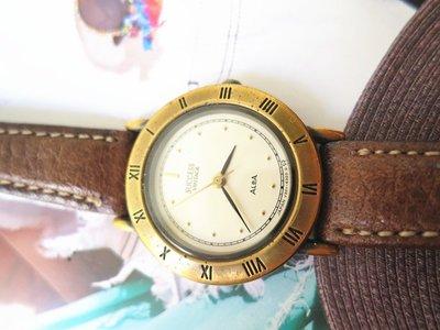 好夠讚』 一元 1元起標 無底價 20多年 老錶 ALBA 手錶 手表 女生 女孩 女表 女錶 老表 標多少 賣多少