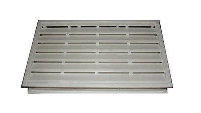 ((小五金‧大世界))PVC塑鋼門通風百葉孔 通風片 透氣孔 (浴室門) 40.4*20.3CM 台中市