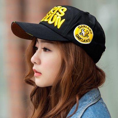 帽子專賣店【LB.CAP&CO.運動休閒造型☆CB178-7☆優質棒球帽 】黑黃款