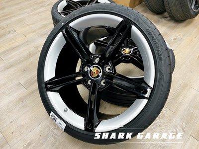 #現貨#✽顯閣商行✽德國原廠Porsche Taycan Mission E Design 21吋 鍛造鋁圈含胎組 改裝
