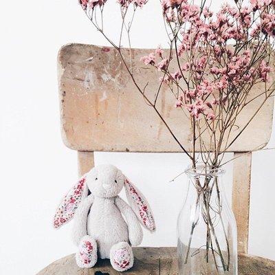 英國代購 英國品牌JELLYCAT Bashful Bunny經典兔子安撫玩偶/安撫巾 31cm 多色可選