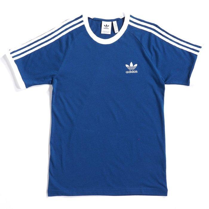 hank40a ADIDAS ORIGINALS 基本LOGO 男款短袖T恤 短袖上衣 三線 DV1564