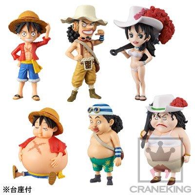 41+本通@gift41 海賊王 One Piece 航海王 WCF Style up 胖亞爾麗塔 胖騙人布 日版金證