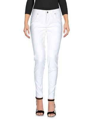 全新 DEPARTMENT 5 專櫃正品 義大利製 牛奶白 牛仔丹寧長褲 27號