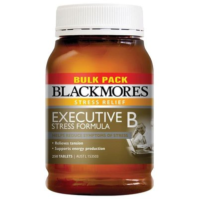 補貨中 澳洲 Blackmores 澳佳寶 大忙人專用B群 250顆