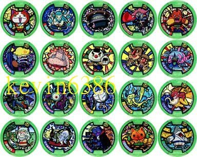 東京都-妖怪手錶徽章卡包補充包--Z系列 單包卡包(彩色徽章)(藍色手錶專用) 現貨