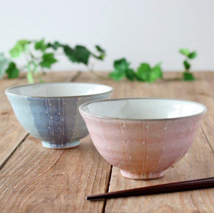 《散步生活雜貨-廚房散步》 日本製 六魯 Blut's 日式手感風 花音 茶碗 碗 - 兩色選擇
