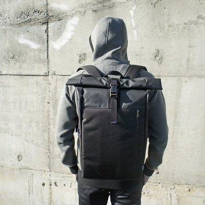 CP值破表 後背包 黑 防水背包 限量試售-dday