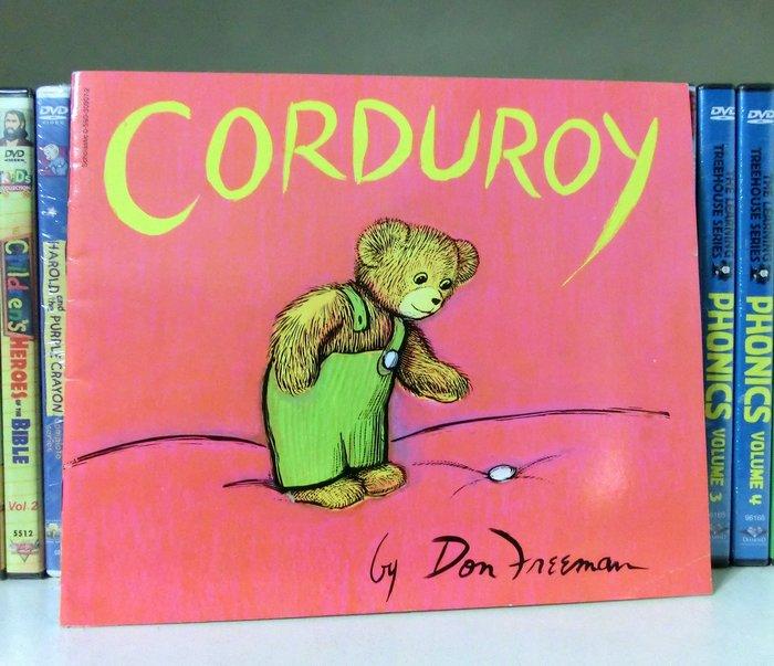 *【兒童英語繪本】*小pen家---可愛的泰迪熊 Corduroy