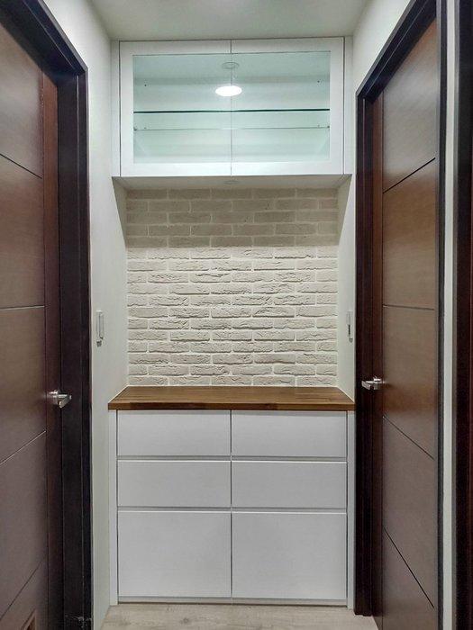 現代簡約 烤白 走廊端景櫃 展示櫃 收納櫃 皆可訂製【帷圓定制】