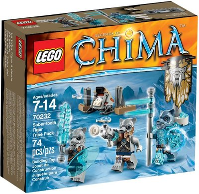 全新現貨 70232 LEGO Legends of Chima Saber-tooth Tiger Tribe Pack