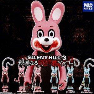 【超稀少】Takara 扭蛋 轉蛋 Silent Hill3 Robbie 沉默之丘 撲殺兔 殺人兔 吐血兔 (單款售)