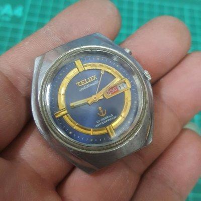大錶徑 TELUX 機械錶 行走順暢 漂亮 非 z4 Rolex OMEGA SEIKO CITIZEN J12 ORIENT FOSSIL lv GUCCI