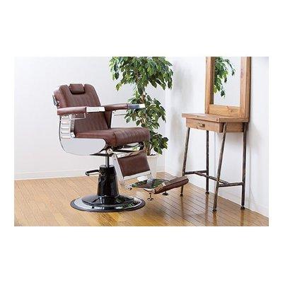 預購《SalonPlanet沙龍之星》LUMBER頂級美容理髮椅(咖啡色)/美髮/質感/復古