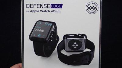 促銷🔥Apple Watch 42mm DEFENSE EDGE 刀鋒系列 保護殼 x-doria 防摔鋁合金邊框