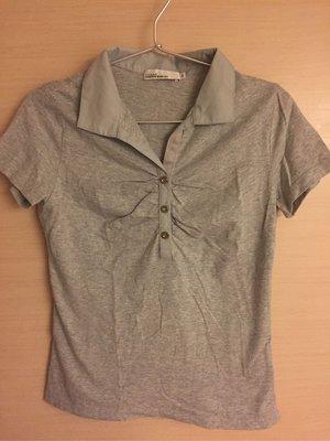 [好東西] 日本 Clear Impression 灰色 上衣 Polo 衫 2號
