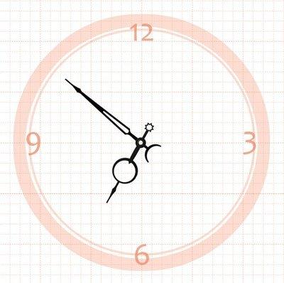【鐘點站】 J097069  SKP壓針機芯 / 分針9.7公分 時針6.9公分 / DIY 時鐘 掛鐘 鐘針