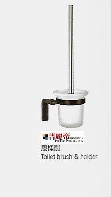 普麗帝廚具衛浴第一選擇◎高品質黑色馬桶刷杯架BET-FH8932-PB-PTY