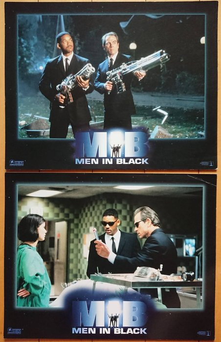 MIB星際戰警 (Men In Black) - 湯米李瓊斯 威爾史密斯 - 美國原版電影劇照 (1997年)