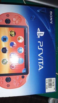 職棒野球魂大賣場 [二手約7成新] SONY PSVITA 2007主機 WIFI 霓虹橘 已過保固 售出不退 本商品保固七日 本商品不含任何遊戲片