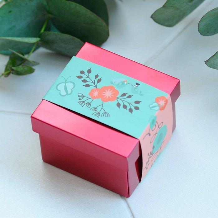 衣萊時尚-熱賣款  喜糖盒創意馬口鐵盒歐式婚慶用品中國風結婚糖果盒子T16