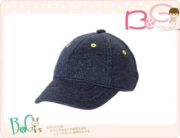 【B& G童裝】正品美國進口GYMBOREE French Terry 內裡棉藍色棒球帽12-18mos