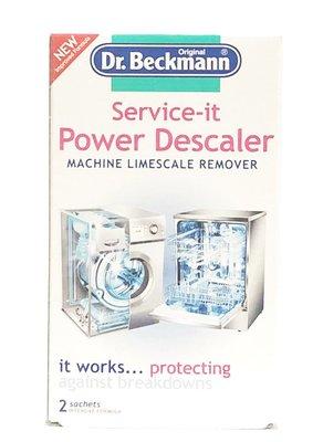 德國 Dr. Beckmann 洗衣機 &洗碗機 清潔除垢劑 Limescale remover ( 每份2包 )