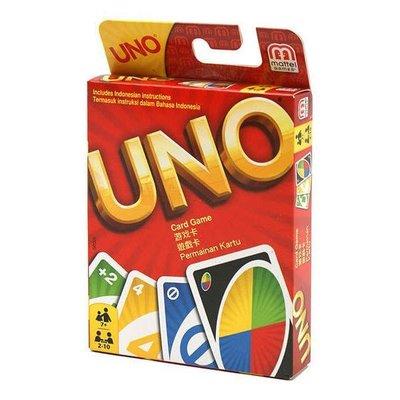 桌遊 UNO 牌 正版 美國Mattel 遊戲卡 牌