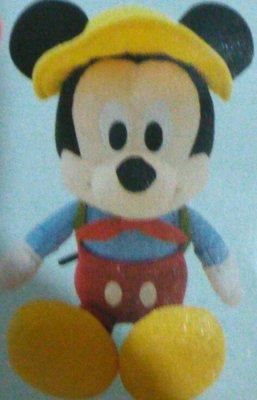 7-11 迪士尼 夢幻露營 米奇系列單賣米奇絨毛玩偶(25cm)