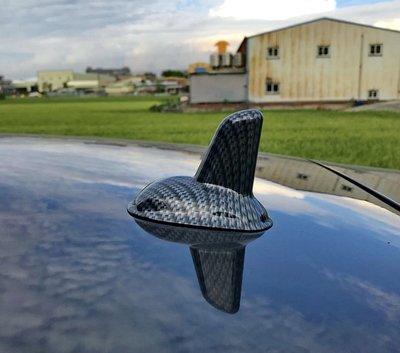 圓夢工廠 賓士 Benz E W210 W211  改裝 車頂 鯊魚鰭天線蓋飾貼 鍍鉻銀 碳纖紋