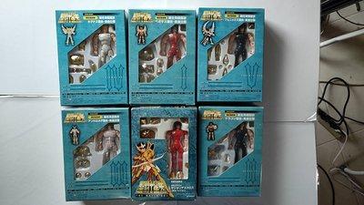 聖鬥士星矢-日版聖衣大系 限定 黃金青銅聖衣6盒 全新未使用