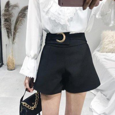 全館折扣圓環西裝短褲 褲子女學生寬鬆韓版
