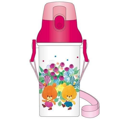 日本製  大學熊郊遊直飲式水壺