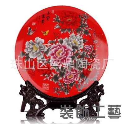 直銷 青花雪景山水圖 陶瓷掛盤  裝飾...