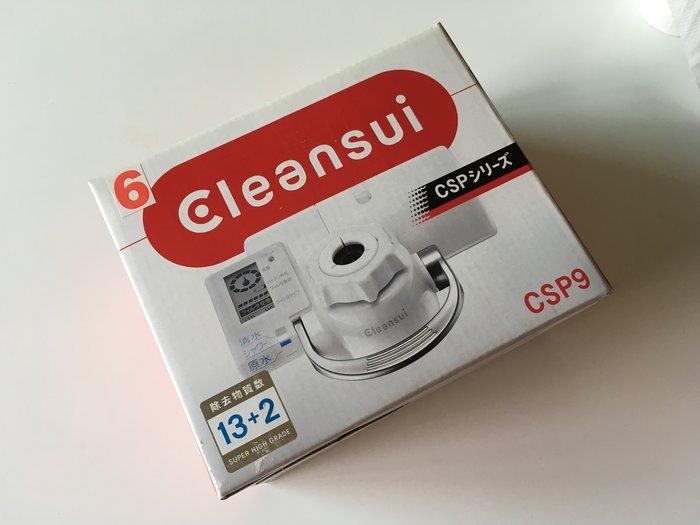 @欣欣舖子日本初売リ特價@日本三菱(可菱水Cleansui)CSP9蛇口型專用濾水器(已到貨)