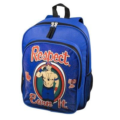 ☆阿Su倉庫☆WWE摔角 John Cena Respect. Earn it. Backpack 最新款後背包 特價中