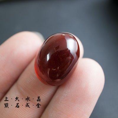 『上久水晶』【頂級紅石榴石戒面】【5....