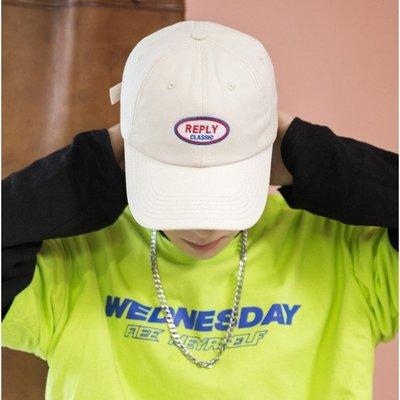【PD帽饰】3色 韓系復古REPLY老帽 可調節 男女可戴 帽子 遮陽帽 棒球帽 鴨舌帽 女生帽子 男老帽 United Freak