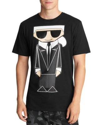 KARL LAGERFELD PARIS Caricature Tee  4/18止
