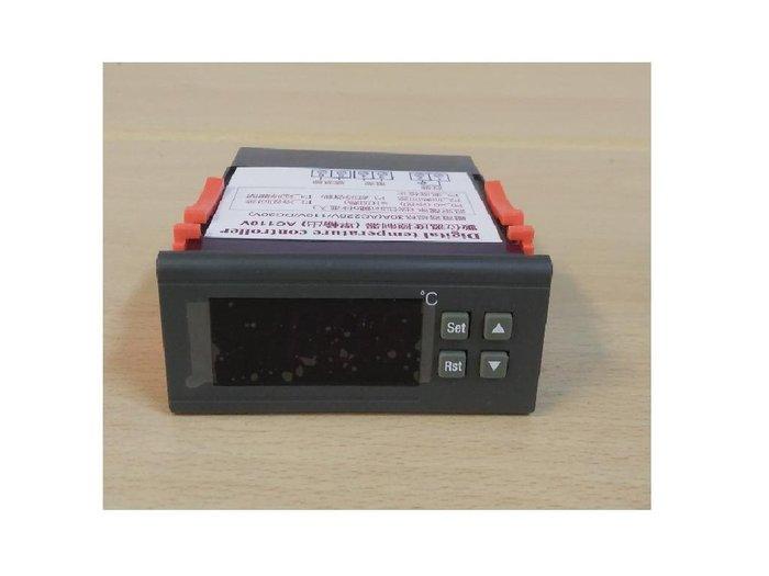 AC220V  30A輸出繼電器 數位式溫度控制器 冷熱 輸出(含塑膠海水用感溫棒)