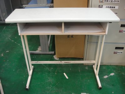 二手家具宏品 台中全新中古傢俱店 E509*多功能2手補習班桌椅 課桌椅 大學椅 兒童書桌椅*2手桌椅拍賣 電腦桌椅