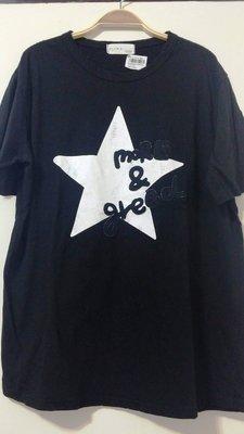 LULU's正韓國korea東大門 星星字母 短袖T恤 qqbow evermore lisly oshare