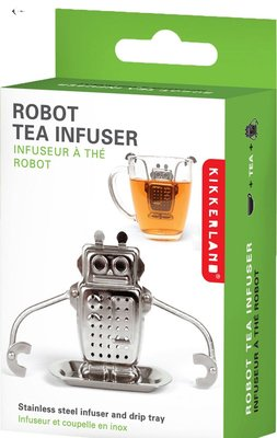 KIKKERLAND Robot tea infuser機器人泡茶容器 (預購)