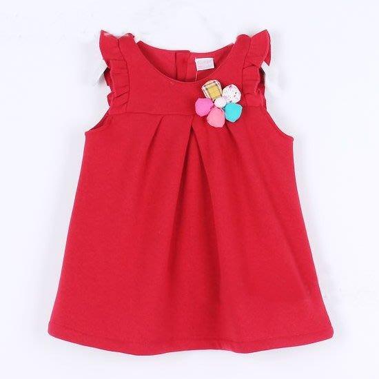 韓版《立體花朵款》優質背心洋裝 (J4-5)