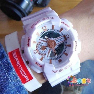 潮流ulzzang手錶男女中學生時尚電子錶韓版簡約休閒大氣
