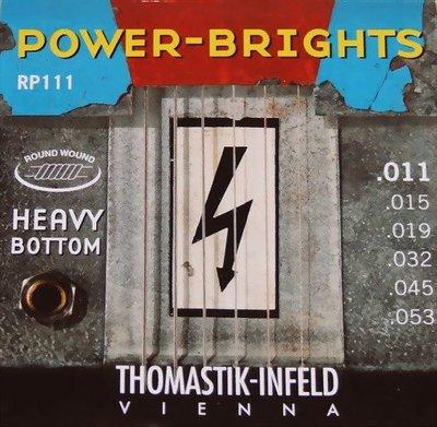 ☆ 唐尼樂器︵☆ Thomastik-Infeld POWER-BRIGHTS RP111 (11-53)手工電吉他弦