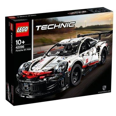 2019款 LEGO 42096 樂高積木玩具 科技機械組 保時捷 911 RSR