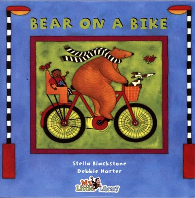 *小貝比的家*BEAR ON A BIKE /單CD/3~6歲