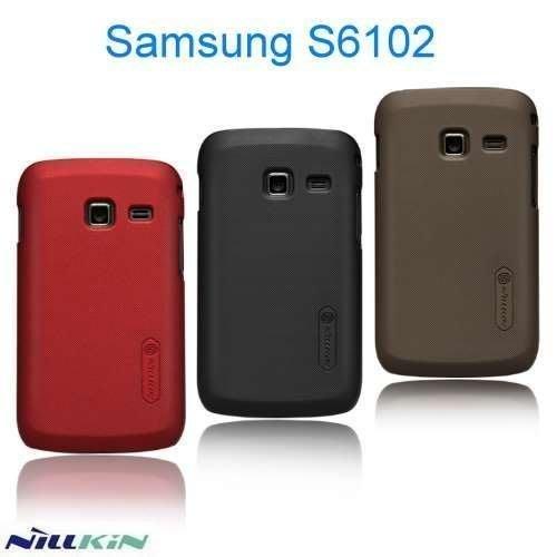 日光通訊@NILLKIN原廠 Samsung S6102 Galaxy Y Duos 超級護盾手機殼 保護殼 烤漆背蓋硬殼~贈保護貼